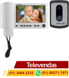 Kit Video Porteiro Com Monofone  IV 7010 HS